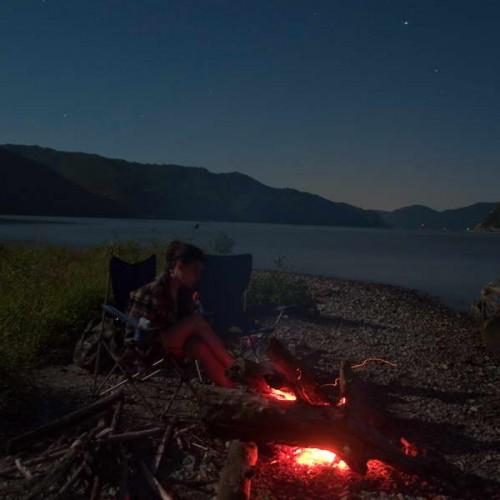 Camping on Čezava