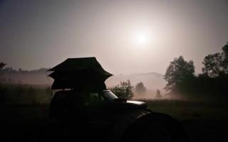 Camping in Transylvania