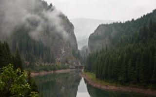 Gorge in the Bucegi mountains