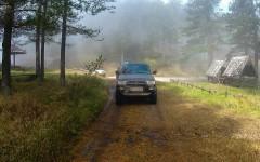 Crossing the Šargan pass