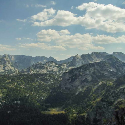 Dramatic Durmitor skyline