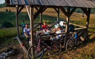Camping on Zelengora