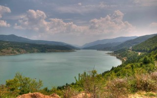 Zavoj lake in the Old mountain