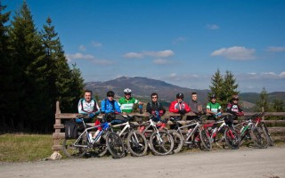 Freebikers on Golija mountain