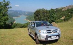 Above the Uvac lake