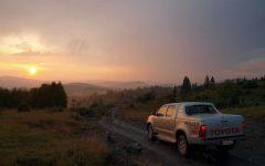 Uvac sunset